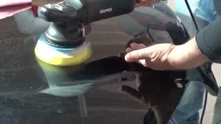 آموزش کارکردن با دستگاه پولیش اوربیتال روپس RUPES