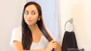 ساخت ماسک مو برای درمان مو های اسیب دیده