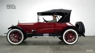 100 سال تکامل خودروها