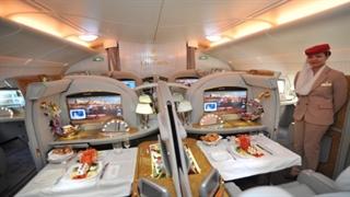بیزینس کلاس هواپیمایی امارات