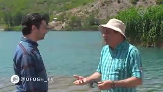 هوای تازه - زباله های کنار دریاچه ولشت