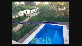 1000 متر باغ ویلا با 360 متر ویلا در محمد شهر