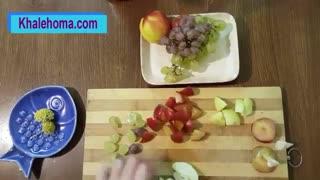ژله میوه ای ساده و شیک با کمترین هزینه