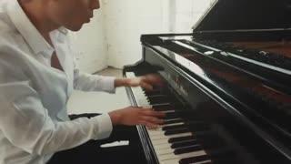 کاور آهنگ مایکل جکسون با پیانو