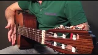 آموزش گیتار: جلسه ۱۱ قسمت ۲، تکنیک آپاگادو بخش ۱