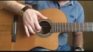 آموزش گیتار: جلسه ۱۳ قسمت ۱، آموزش آرپژ ۴/۴