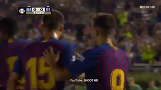 گل مونیر الحدادی به تاتنهام ( جام قهرمانان بین المللی )