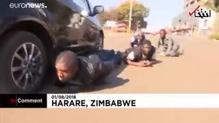 درگیری های پساانتخاباتی در زیمبابوه ۳ کشته بر جای گذاشت