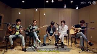 ورژن Acoustic Live آهنگ Summer night dream از FTISLAND❤~+هاردساب اختصاصی چسبیده ✨تقدیمی