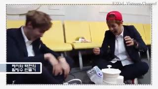 فانی مومنت چانیول و بکهیون اکسو در کنسرت ها و خوابگاه  EXO - Chanyeol & Baekhyun - Funny Moment