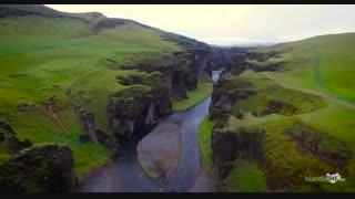 طبیعت یخی و محشر ایسلند