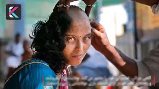 تجارت پرسود و کثیف معابد هندی با موهای مردم