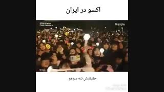 اکسو در ایران خخخخخ