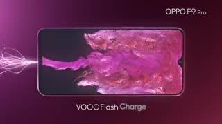 تیزر جدید شرکت Oppo برای گوشی F9 Pro