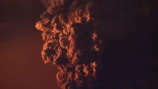 فوران آتشفشانی کوه کالبوکو در شیلی