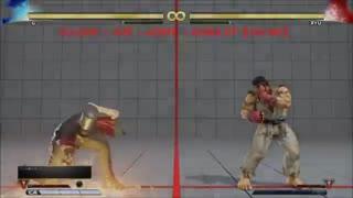 STREET FIGHTER V AE G BASIC COMBOS