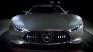 معرفی مرسدس بنز گرند توریسمو  Mercedes-Benz AMG Vision Gran Turismo