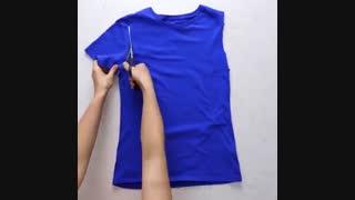ایده هایی برای طراحی لباس جدید با استفاده از لباس های قدیمی