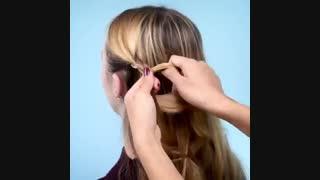 چند مدل موی جذاب و سریع برای دختر خانم ها