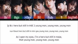 BTS (방탄소년단) - ANPANMAN (Color Coded Lyrics Eng Rom Han)