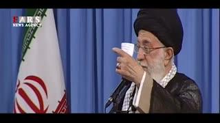 رهبر انقلاب: جنگ نخواهد شد/ با آمریکا مذاکره نمیکنیم