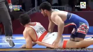 دو مدال طلا برای کاروان ایران در مسابقات آسیایی