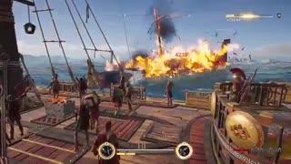 ویدئوی جدید از مبارزات دریایی بازی Assassin's Creed Odyssey