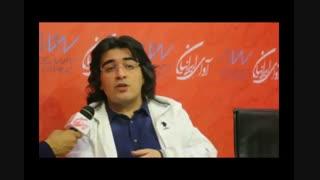 سامان احتشامی( موزیسین) : امیدوارم حمایت همه جانبه ای از شامد شود