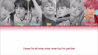 Bts_im fine lyrics