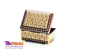 جعبه خاتم کاری اصفهان