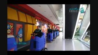 اسکرابر - کفشوی صنعتی سرنشین دار