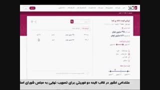 معرفی سامانه کیلید در اخبار سراسری شبکه 1 سیما
