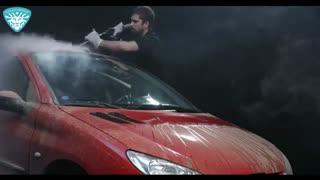 شستشوی بدنه خودرو با کارواش نانو بخار