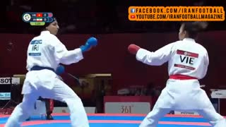 کسب مدال برنز +68 کاراته توسط حمیده عباسعلی در بازیهای آسیایی ۲۰۱۸ جاکارتا