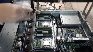 آموزش تعویض خمیر سیلیکون CPU در سرور HPE DL380 G9