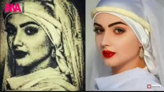 بازسازی چهره واقعی زلیخا در موزیم مصر