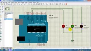 قسمت دهم : آموزش کار با LED و LED RGB و کار با سریال