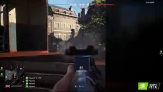 گیم پلی جذاب بازی Battlefield V با کارت گرافیک RTX2080 Ti