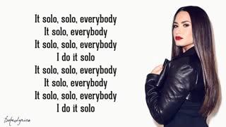 Solo - demi lovato تنهایی از دمی