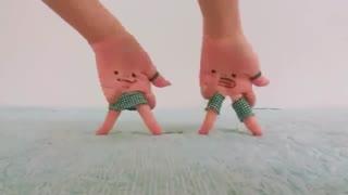 بلک پینک  DDU-DU DDU-DU | رقص انگشتی