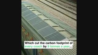 نوآوری هندی، پنل های خورشیدی در ایستگاه ها مترو