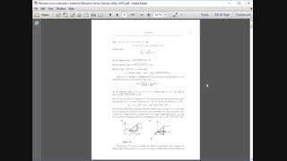 حل  تمرین حساب دیفرانسیل و انتگرال برداری لووریچ