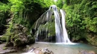 آبشار شگفت آور تمام خزه ای  ایران