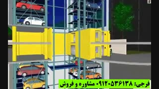 پارکینگ برجی یکی از انواع پارکینگ طبقاتی مکانیزه