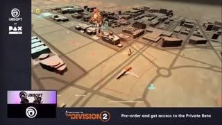 تریلر جدید از گیمپلی بازی The Division 2 (بخش اول)