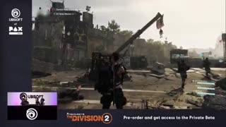 تریلر جدید از گیمپلی The Division 2 (بخش دوم)