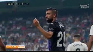 خلاصه لالیگا: رئال مادرید ۴-۱ لگانس