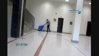 اسکرابر - کفشوی صنعتی - اسکرابر کابلی