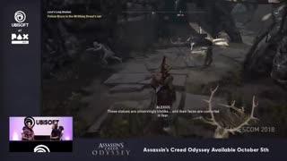 نمایشی جدید از گیمپلی شخصیت الکسیوس در Assassin's Creed Odyssey