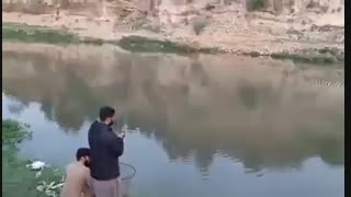 زیباترین  فیلم صید ماهی کپور با قلاب